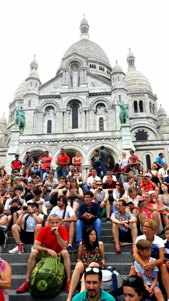 Tarde en Montmartre Paris