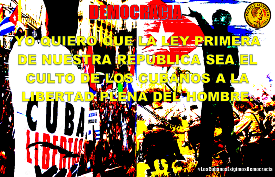 Democracia para Cuba by Tony Cantero Suarez
